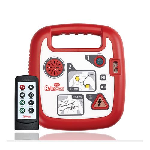 [알리고] 교육용 제세동기 T200 자동심장충격기 심장제세동기 심장충격기