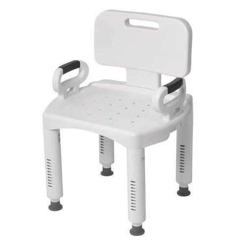 [드라이브메디컬] 목욕의자(등받이/손잡이탈부착) /장애인목욕의자 환자용목욕의자 실버목욕의자 휴대용목욕의자 샤워체어 환자용품 간병용품 실버용품