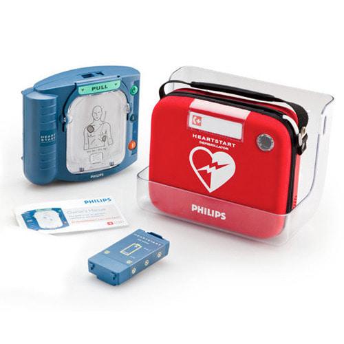[PHILIPS] 필립스 하트스타트 HeartStart HS1 자동제세동기 심실제세동기 AED 심폐소생술 심장제세동기 자동식제세동기